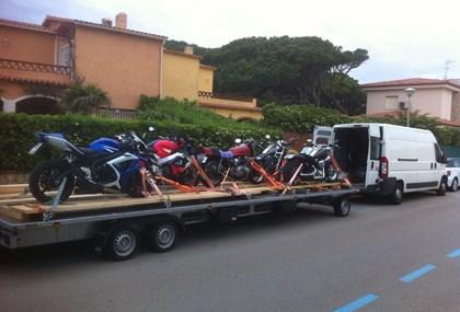 Motorrad Tour Deutschland - Spanien 05.05-20.05.18