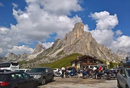 Motorrad Tour Dolomiten mit langer Anfahrt