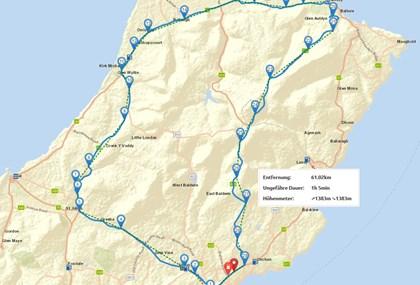Motorrad Tour TT Tourist Trophy Straßenrennen Isle of Man