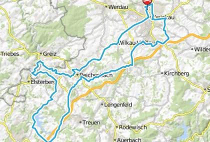 Motorrad Tour Horch Klassik 2009 - Talsperre Pöhl