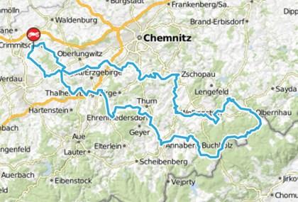 Motorrad Tour Erzgebirgstour - Olbernhau