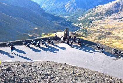 Motorrad Tour Alpen Challenge 2019 - Tag 5  Le Sauze - Valloire
