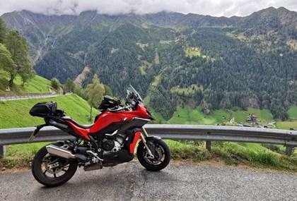 Motorrad Tour Testtour sportliche Tourer - Variante Timmelsjoch