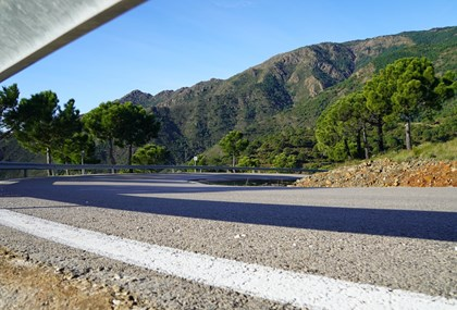 Motorrad Tour Setenil de las Bodegas - Die Stadt im Fels