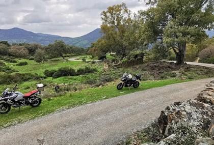 Motorrad Tour Marbella - Casares - Gaucin - Cortes - El Burgo