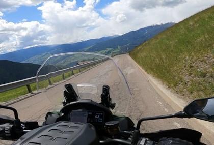 Motorrad Tour Kurze Sella Ronda Variante mit Würzjoch