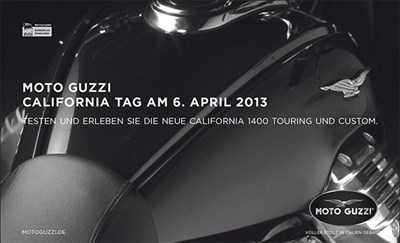 Moto Guzzi Testride Day am 06.04.2013