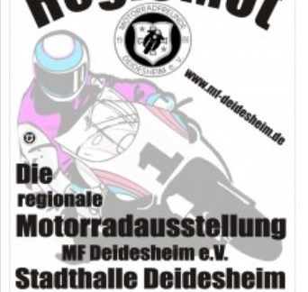 Regionale Motorradmesse in Deidesheim