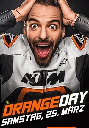 KTM Orangeday  auch dieses Jahr warten wieder die Modellneuheiten von KTM bei uns auf Euch.  Und für das leibliche Wohl wird natürlich auch wie immer gesorgt.  ...