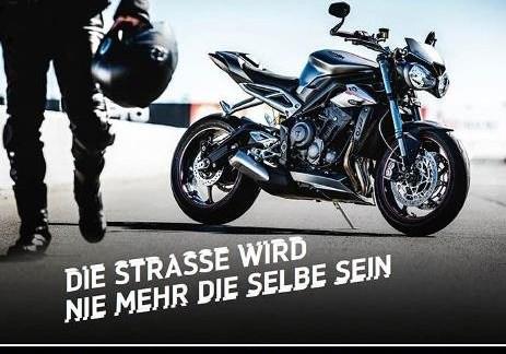 Saisonstart mit der neuen Street Triple am 25.03.2017 bei Triumph Rheinhessen
