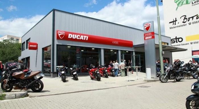 Wir sind da: Ducati