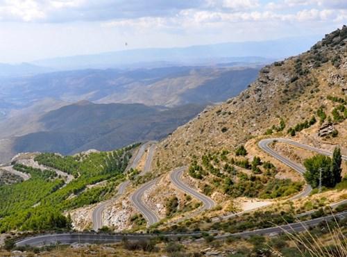 Motorradfahren in Andalusien
