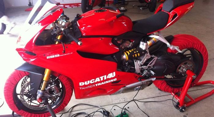 Ducati Rennstreckentraining 2013