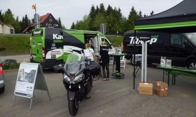 "Testfahrten ""Team Green Life"" 2013"