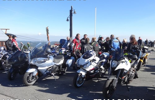 Motorradausfahrt nach Oberwiesenthal