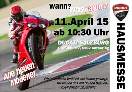 HAUSMESSE b. DUCATISALZBURG/RACEPARTS