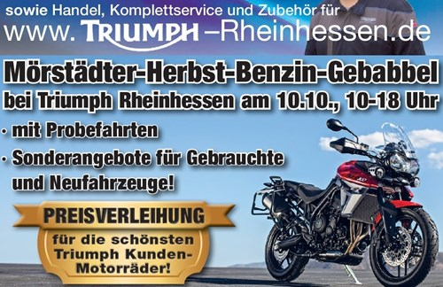 """Mörstädter-Herbst-Benzin-Gebabbel"" am 10.10.2015"