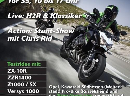 Kawasaki Team Green Live