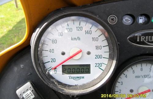 200.000 km Triumph Tiger
