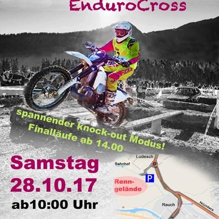 Guguruzrennen 2017 Heuer veranstaltet der Enduro Club Oberland am SA 28.10.2017 zum 10. Mal das Guguruz EnduroCross Rennen in Ludesch. Rennbeginn 10.00 Uhr ...