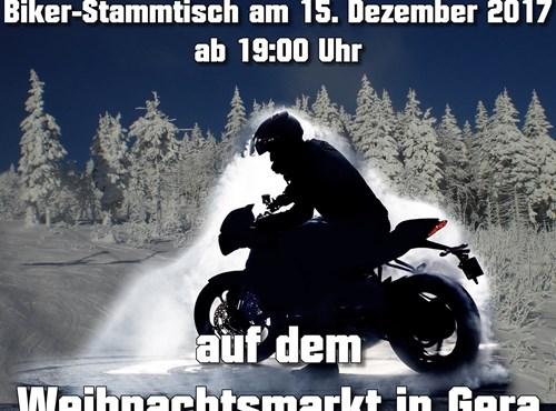 15.12.17 - Biker-Stammtisch in Gera