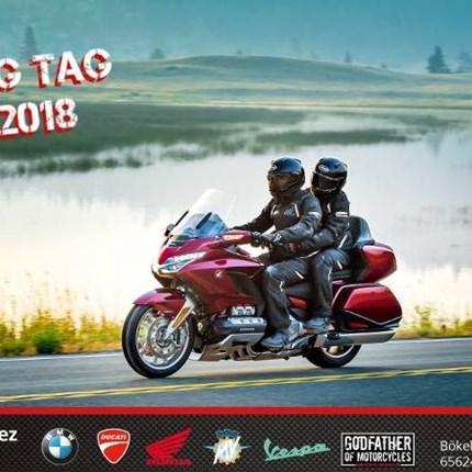 Gold Wing Tag Komm zum Honda Gold Wing Tag bei MCA. Heute dreht sich alles um die Touring-Motorräder, die deine Motorradreise einfach perfekt zu machen. Die ...
