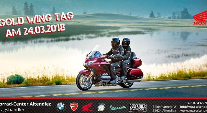Gold Wing Tag