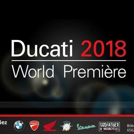 Ducati Live Stream Am 5. November auf der EICMA ist es soweit!Ducati stellt seine neuen Modelle 2018 exklusiv auf der EICMA in Italien vor. Schalte unbedingt in den ...