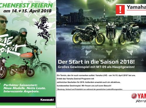 Kawasaki Drachenfest + Yamaha Live - 35 jähriges Jubiläum
