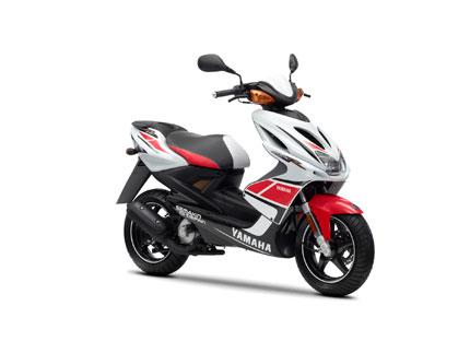 Motorrad Vergleich Yamaha Aerox 4 2018 vs. Suzuki GSX-R