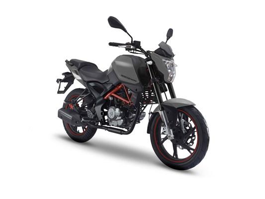 KSR Moto GRS 125 Gunmetal Grey