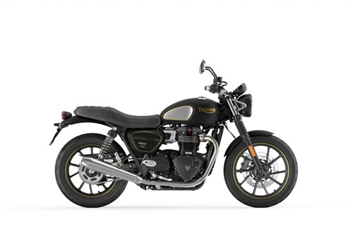Triumph Street Twin Gold Line Limited Edition