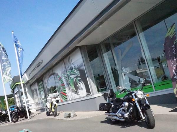 Motorradverkäufer/in