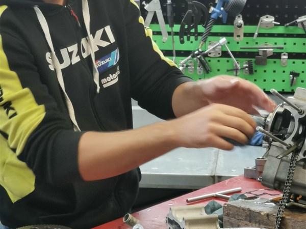 Azubi Zweirradmechatroniker Fachbereich Motorrad
