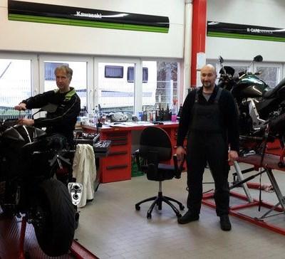 Unser Team Marcel, Jörg und Björn