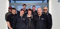 Team Motorradshop Kuhlow mit unseren Stock-Car-Fahrern