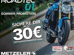 Bild zum Bericht: Metzeler Sommeraktion: 30 Euro sparen beim Kauf eines Roadtec 01 Reifensatzes!