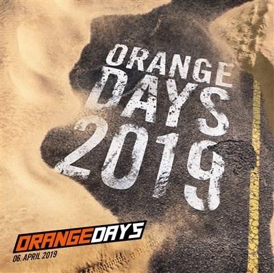 KTM Orange DAYS  - 6. April 2019 KTM Orange DAYS  - 6. April 2019 Weiter >>