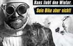 Sei wie Hans! Bring Dein Bike JETZT zum Überwintern zu Lietz!