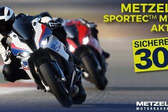 Bild zum Bericht: Sparen beim Reifenkauf? Jetzt möglich bei der Metzeler Sportec M7 RR Aktion!