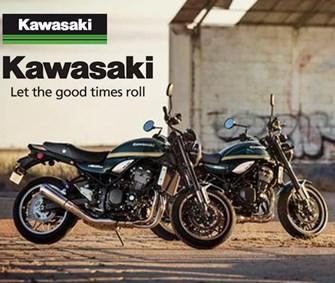 NEWS Neue Sonderlackierungen für die Kawasaki Z900RS