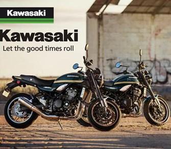 Neue Sonderlackierungen für die Kawasaki Z900RS
