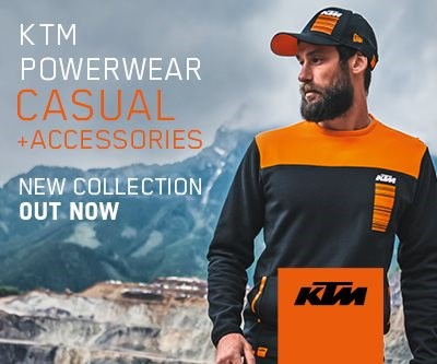 KTM Powerwear CASUAL 2020  Die neue 2020er Kollektion KTM PowerWear Casual & Accessories ist schon eingetroffen!  Schaut vorbei - Es ist sicher etwas für... Weiter >>