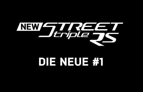 STREET TRIPLE RS - DIE NEUE #1