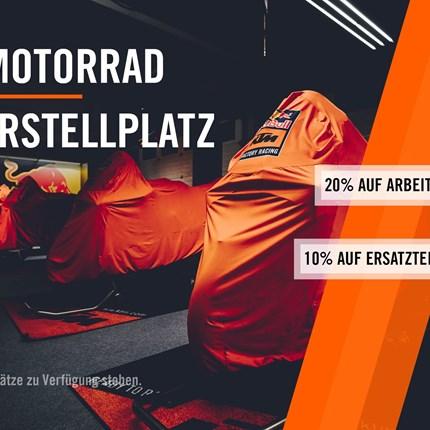 Wintereinlagerung 2020/21 für KTM und Husqvarna  Du suchst einen Winterstellplatz für dein Motorrad?   Dann sichere dir jetzt. DEIN MOTORRAD WINTERSTELLPLATZ Wintereinlageru... Weiter >>