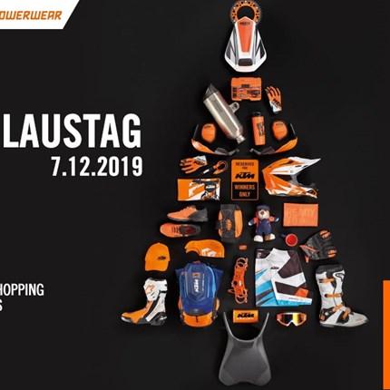KTM Nikolaustag  Das Team vonEuro Motors Grazlädt am Samstag, dem 7. Dezember 2019 von 9Uhr bis 14 Uhr zum traditionellen KTM Nikolaustag ein.... Weiter >>