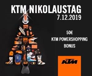 KTM Nikolaustag 2019  !!Bald ist es wieder soweit!! Am Samstag 07.Dezember 2019 findet wieder der alljährliche KTM Nikolaustag statt. Unser Geschä... Weiter >>