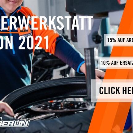 WINTERWERKSTATTAKTION  Letzter Monat letzte Chance | Bereite jetzt dein Motorrad auf die Saison vor und sicher dir 15% auf alle Arbeitsleistungen!  D... Weiter >>