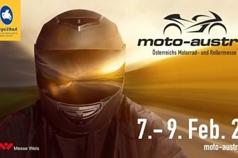 moto-austria - Österreichs Motorrad- und Rollermesse - überrascht 2020 mit unzähligen Österreich Premieren und dem Motorrad des Jahres