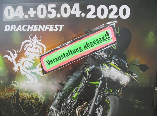 ABGESAGT ! Unsere Veranstaltung am 04. & 05. April 2020 - Saisonstart